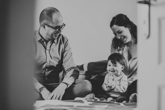 Séance photo de famille à domicile