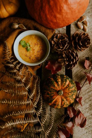 photo soupe courge automne
